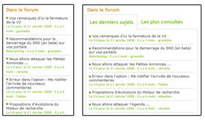 Le module Forum