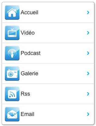Nouvel Ours dans la version iPhone
