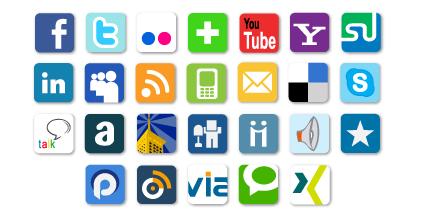 Tissez des liens vers vos réseaux sociaux avec le module Services Web 2.0