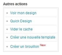 Version Brouillon : modifiez votre design en toute tranquilité !