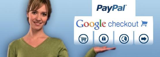 2 nouveaux systèmes de paiement : Paypal Abonnement et google Checkout