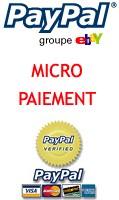 Paypal arrive en Micropaiement