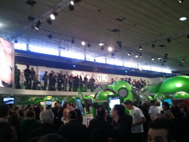 Déplacement au Mobile World Congress 2011