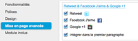Le bouton Google +1