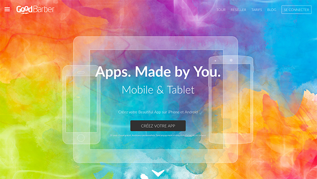 Créez vos apps avec GoodBarber