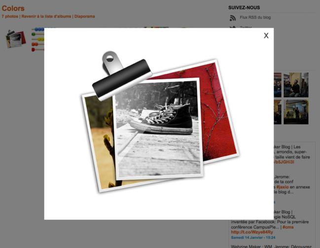 Exemple de la nouvelle ibox avec opacité sur la page et sans bordure