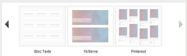 Module mes notes : Affichage à la Pinterest !