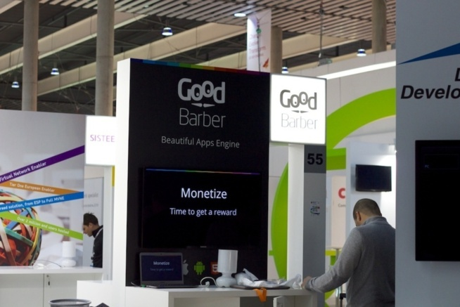 Le stand GoodBarber