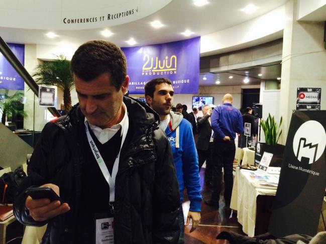 Salon de la radio : Rencontres parisiennes avec les clients de WMaker