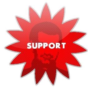 Le support débordé :(