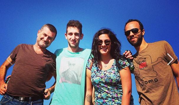 Alex, Ariana et Diego