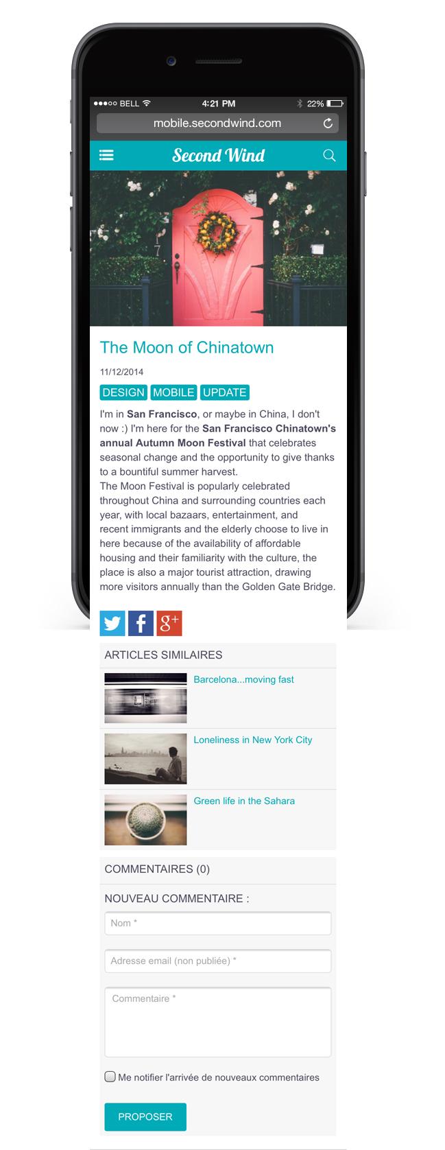 Nouvelle page Article / Video