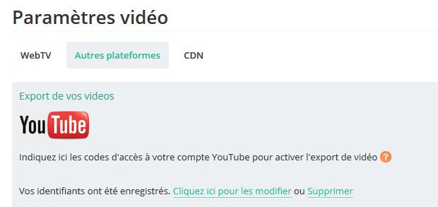 Duplication des vidéos sur Youtube