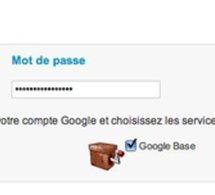 WMaker est connecté à Google Base