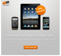 L'offre exclusive Apps mobile est lancée