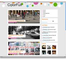 Pour la rentrée ... la nouvelle maquette ColorFull