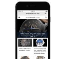 Version Mobile WMaker : Showcase Montres de Luxe