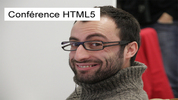 Conférence HTML5 : Laurent Linza