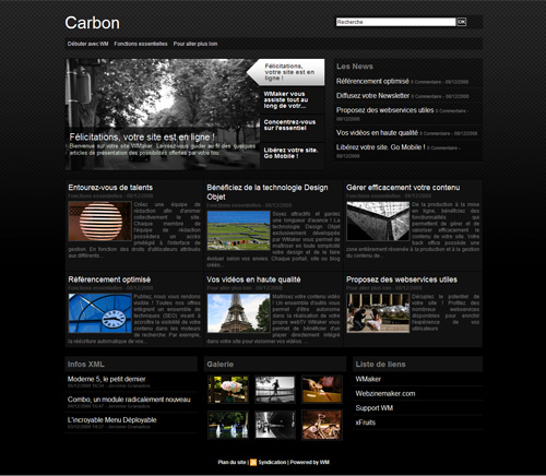 Maquette Carbon
