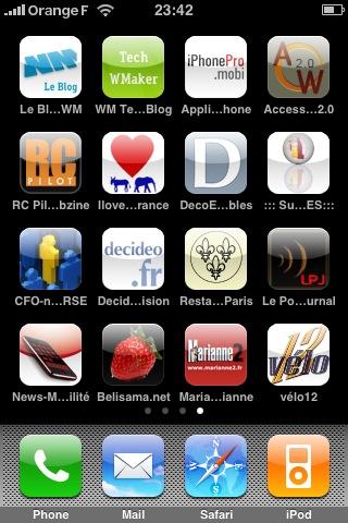 Avez-vous personnalisé votre Apple Touch Icon ?