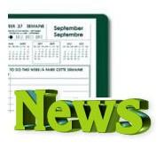 Les évènements de l'agenda dans le module de News