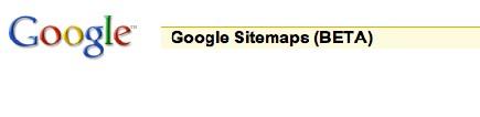 Référencement : Google SiteMaps en avant première sur WM