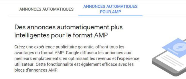 De la pub dans vos pages AMP !