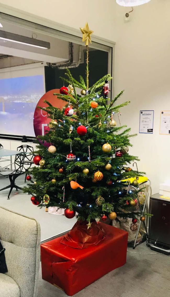 On vous souhaite un Joyeux Noel à vous tous