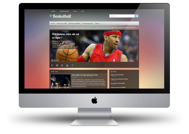 Nouveau thème - BasketBall
