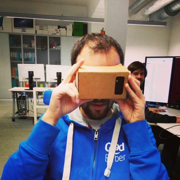 Virtual Cardboard