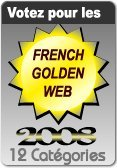 logo french golden web