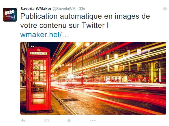 Publication automatique en images de votre contenu sur Twitter !