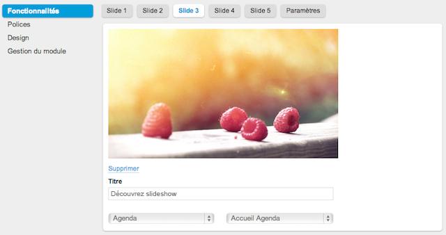 Slideshow : le module qui changera votre page d'accueil pour toujours