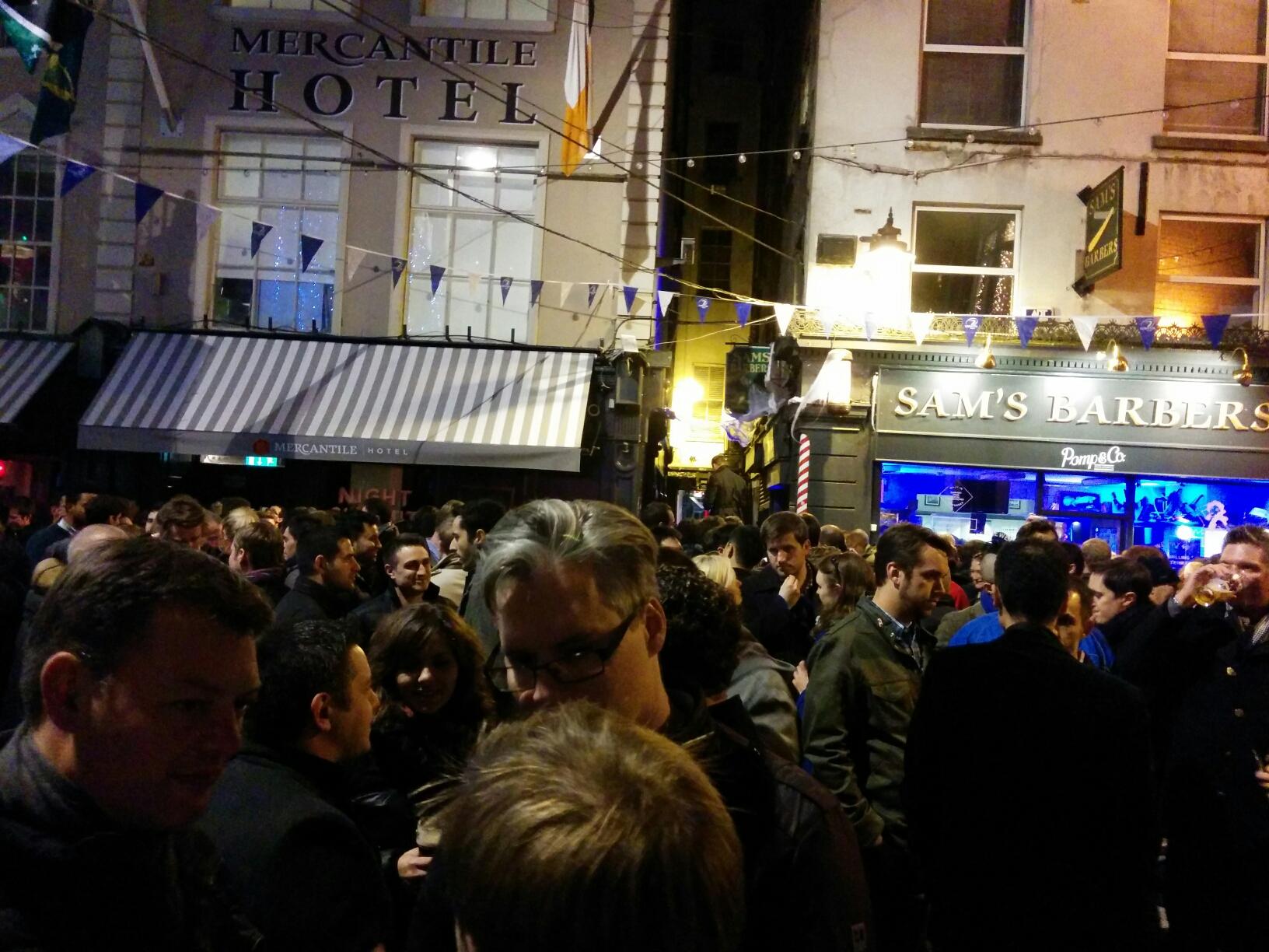 Une folle semaine à Dublin