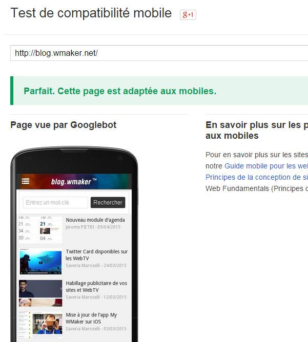 SEO : Mise à jour de Google le 21 avril, modification de la prise en compte des versions mobiles