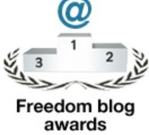 RSF le Freedom Blog award Al Jinane
