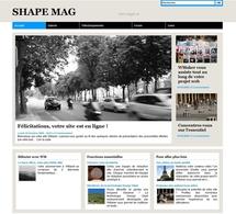 Maquette Shape Mag