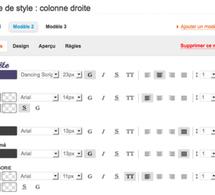 Le modèle de style : un outil méconnu mais très utile