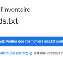 Ads.txt pour adsense